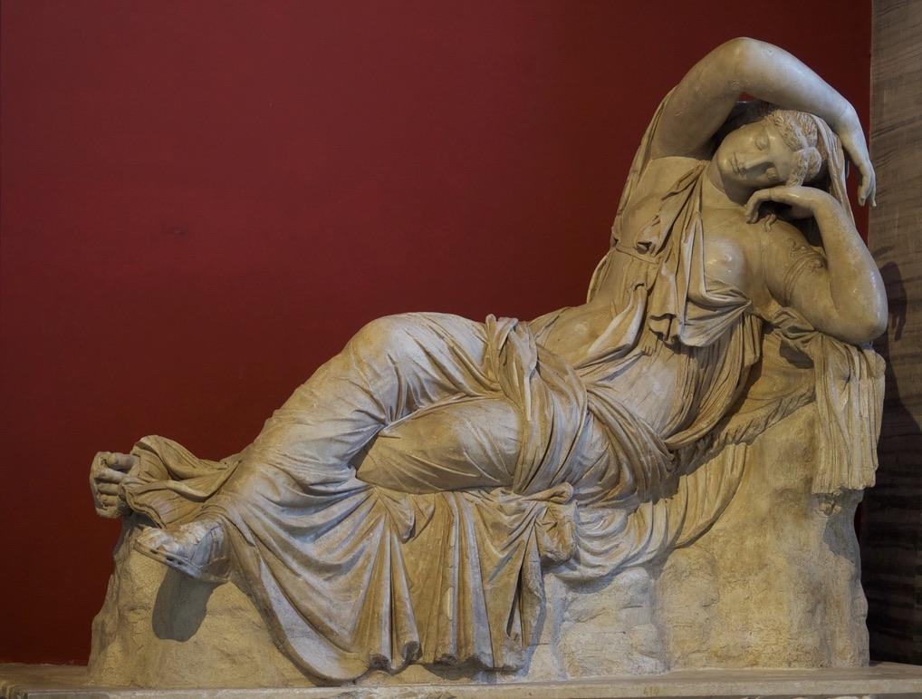 The Sleeping (or Reclining) Ariadne, Vatican Museum, Rome